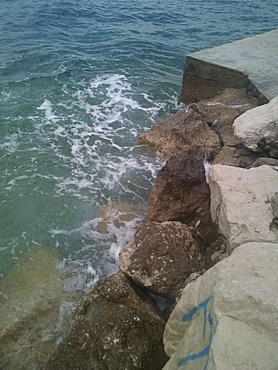 Beauty In Nature Crikvenica Croatia Day Idyllic Nature Outdoors Rock Rock - Object Sea Water Wave
