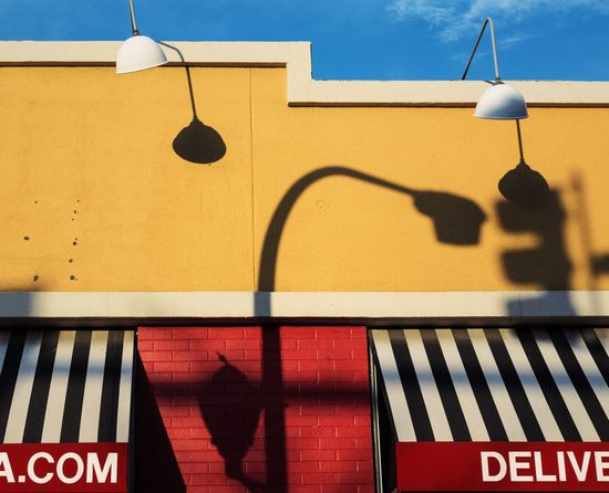 That summer vibe Architecture Built Structure Building Exterior Day Outdoors Sunlight Hanging No People Shadow City Sky EyeEm Best Shots The Architect - 2017 EyeEm Awards Minimalist Architecture Paint The Town Yellow