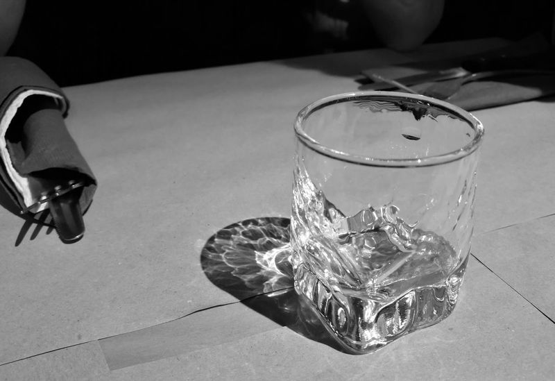 Drinking Glass Table Indoors  Close-up HuaweiP9 Italy Lake Of Como, Lecco Lago Di Lecco Huawei P9 Leica HuaweiP9Photography Back&white  Black And White Photography Back And White