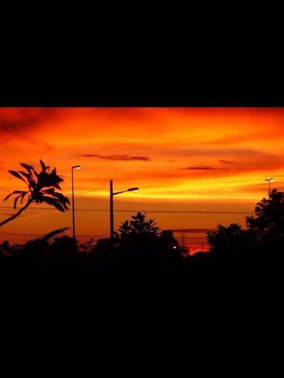 Sunset in Bangi,Malaysia Sunset Bangi EyeEm Malaysia
