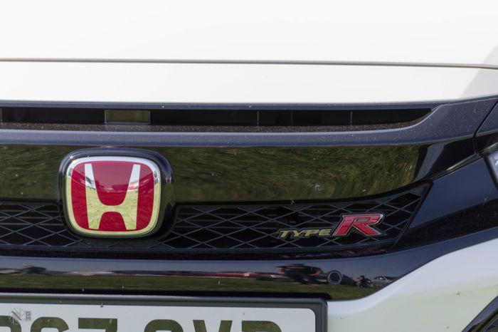 Honda Type R Car Close-up Day Motor Vehicle Outdoors Vehicle Part