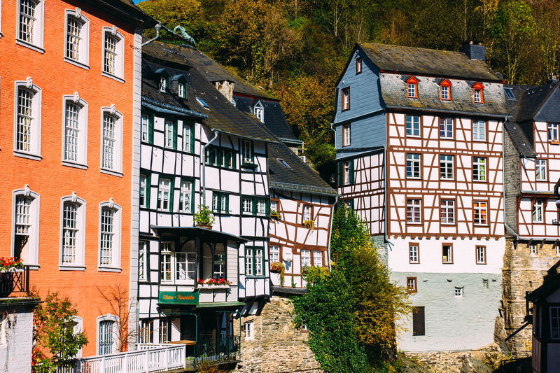 Half-timbered houses in monschau
