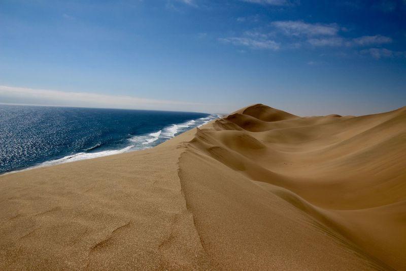 Land Sand Sea