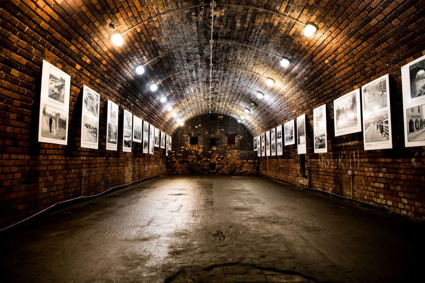 Fort No. 5, named King Frederick Wilhelm III, was one of the network of over a dozen of forts built in the second half of the 19th century along the circular road around Königsberg. EyeEmSelect WeekOnEyeEm Architecture Brick Cellar Concrete Illuminated Indoors  Subway Tunnel Wall The Traveler - 2018 EyeEm Awards