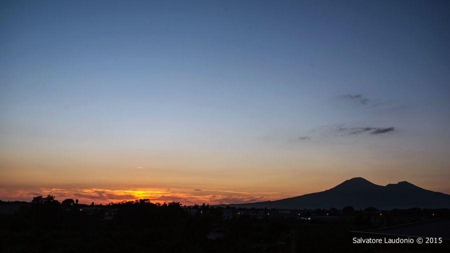 Vesuvio Sunset