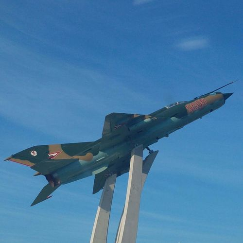 Mig 21 Mf Supersonic Plane Jetfighter in Kecskemét Hungary Showcase July