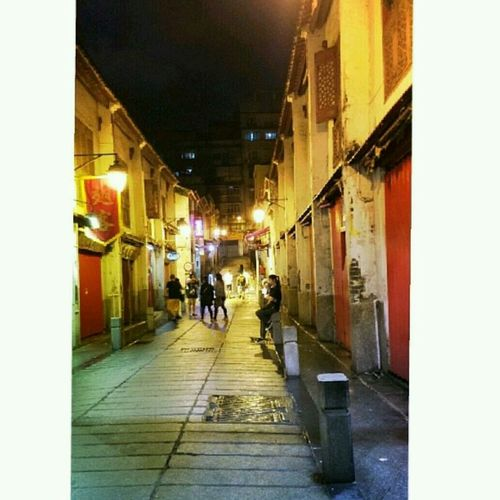 Old Residential Area Macau Street Photography
