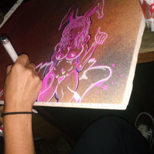 LastNight :) Canvas Sowlo Art