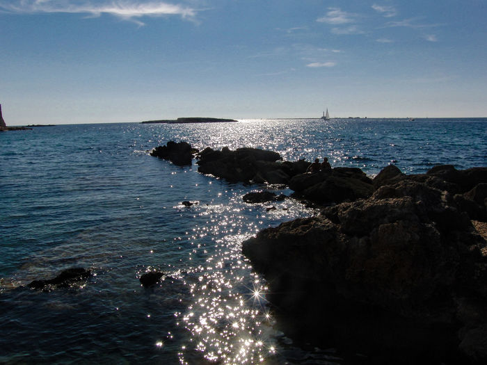 Itlay Gallipoli Gallipoli Sea And Sun Gallipoli Italy Apulien Sea Sun Reflection