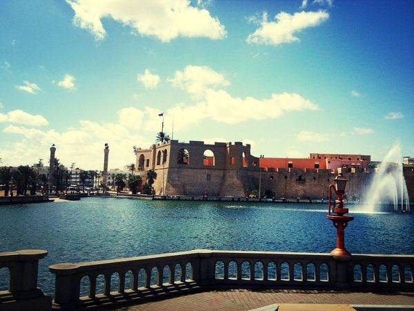 Tripoli down town, kirmizi saray