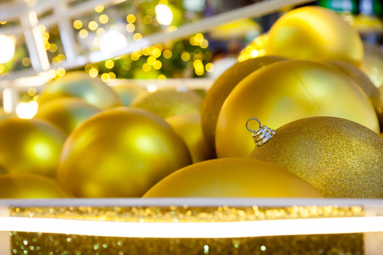 Celebration Celebration Event Christmas Christmas Decoration Christmas Ornament Close-up Decoration Event Gold Gold Colored Holiday Indoors  No People Shiny Yellow