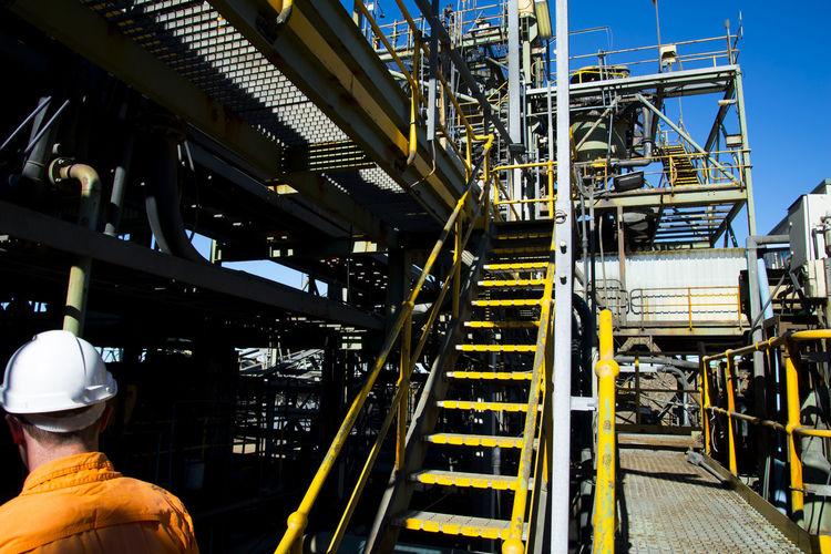 Mining Process Plant in the Field Kalgoorlie Gold Mine Mining Process Plant Factory Machinery
