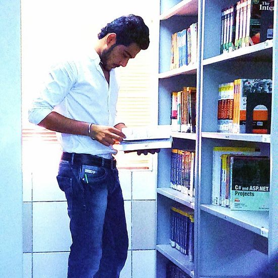 Library Study College Life Seriousness  😉 😀