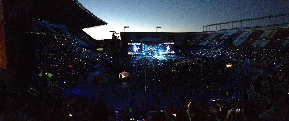 Throwback to One Direction concert Throwback One Direction SPAIN Vicente Calderon July