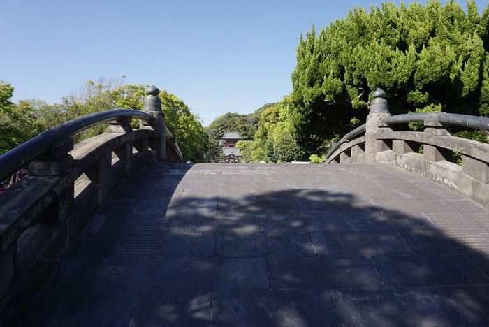 Sunlight Day Shadow Outdoors Tree Nature No People Architecture Sky Beauty In Nature Japan Kamakura