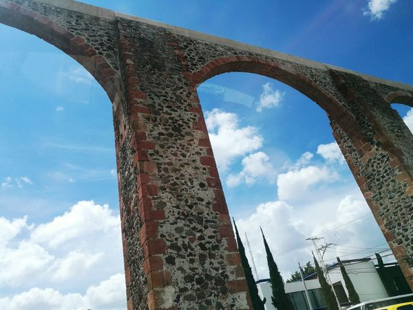 Arcos sky Cloud - Sky Sky Arch Architecture Travel Destinations Blue Nature Low Angle View