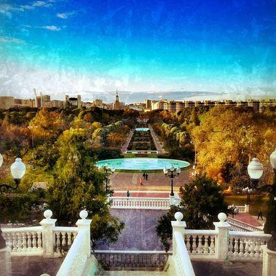 Vistas desde lo alto del ParqueJoseAntonioLabordeta Zaragoza Igersaragon Igerszgz