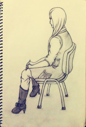The previous sketches - Zhe