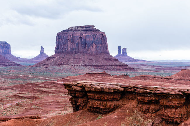 Architecture Beach Cloud - Sky Day Monument Valley Tribal Park No People Outdoors Sand Sky