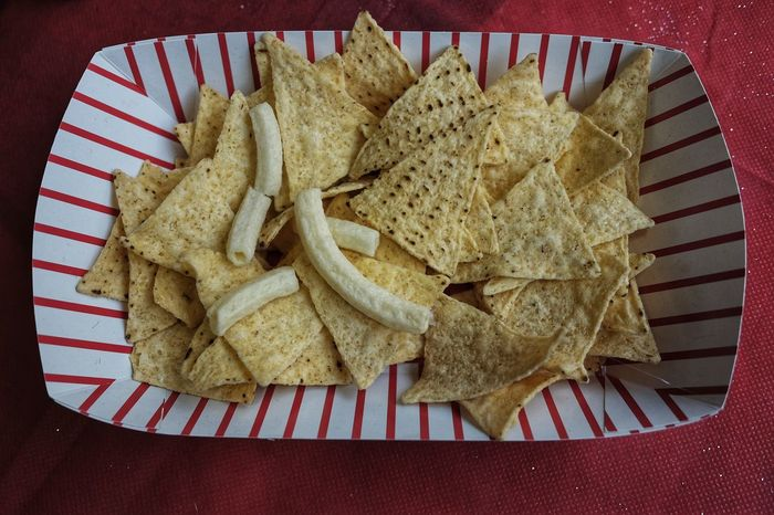 Container Nachos Snack Tacos Crunchy Food Food And Drink Potato Chip Potato Chips Rectangular Takeaway