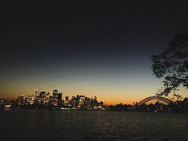 Sydney Australia Architecture City Built Structure Skyscraper Building Exterior Cityscape River Illuminated Water Sky Urban Skyline Clear Sky Waterfront No People Travel Destinations Night Modern Sunset Outdoors Nature
