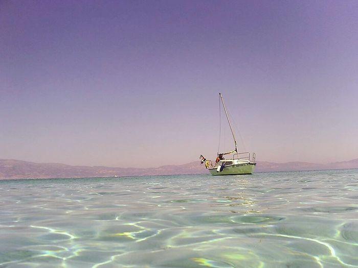 Sea Boat Amazing Beautiful
