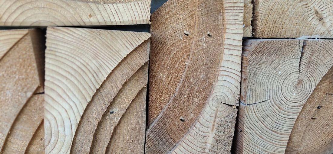 Wood grain on