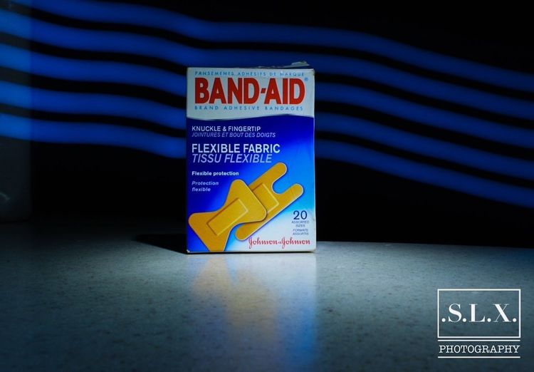 A shot at product photography Product Photography Bandaid Bandaids Band Aid D5200 Lagos Nigeria Hello World Taking Photos Nikon D5200 Long Exposure Nigeria Blue