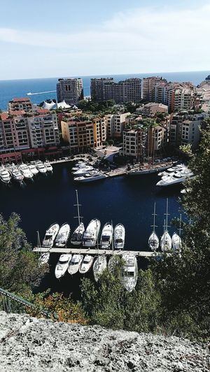 Cityscape Architecture City Building Exterior Nautical Vessel Urban Skyline Water Sky Sea Day Marina Boats Boats And Water Monaco Live For The Story