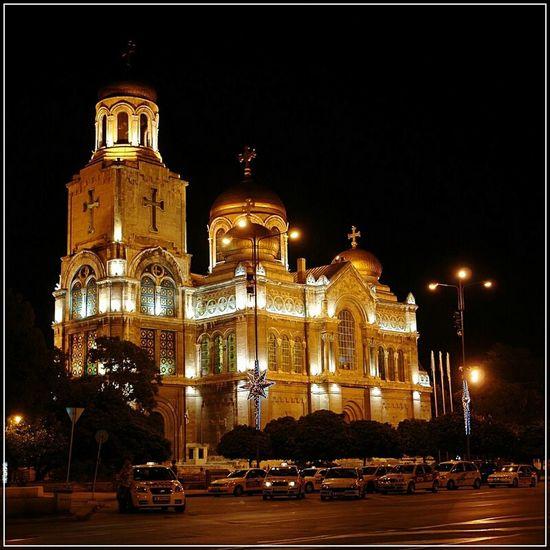 Warna Night Church Katedra Noc Bułgaria Bulgaria Cathedral Architecture Architektura