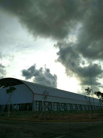 Coal storage Skycollection Cementplant Taking Photos Workingplace Tuban Eastjava
