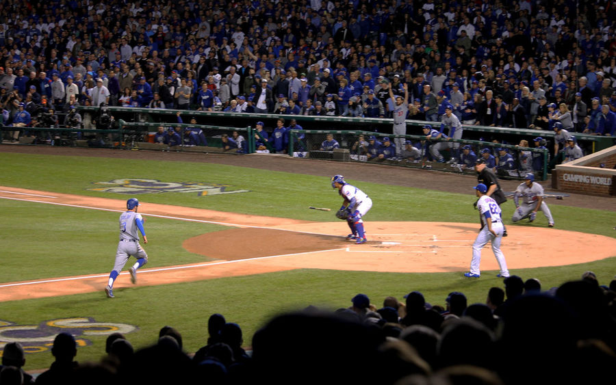 #NLCS #baseball #baseball Is Life #chicagocubs #home Run #losangelesdodgers Audience Baseball - Sport Competition Competitive Sport Crowd Day Large Group Of People Men Outdoors People Playing Real People Sport Sports Team Sportsman Stadium Teamwork