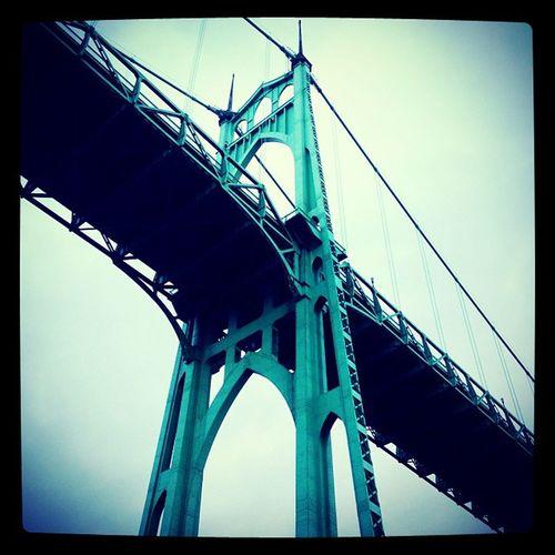 St. John's Bridge Pdxcavation Instameetpdx Instapdx