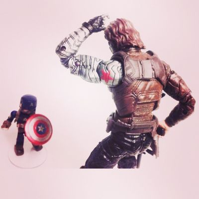 This is uh..my...target?! Minimates Marvellegends WinterSoldier Captainamerica Diamondselect Disney Hasbro Mcu Avengers2 Ageogultron Infinitieseries Geekingout Manchild Figurelife Figurecollecting Collector Collecting Steverodgers Bucky Marvelcomics Marvel Toysrus