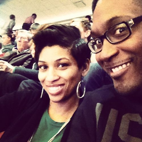 Chillen at the Big Ten game @twolips82 Bball ??????? O State Mich St Big10