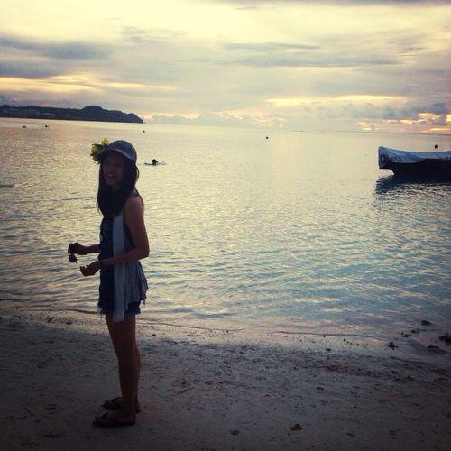 I Love Guam 始めての海外旅行でした??ほんとほんとに全てが新鮮で感動で楽しくってもう最高?????