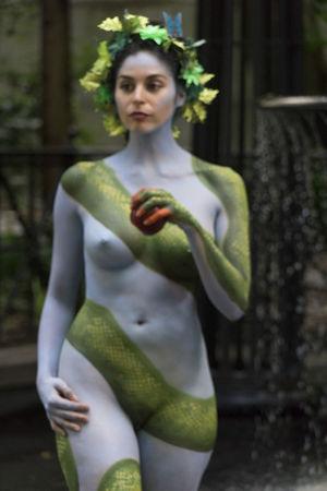 Art Is Everywhere New York Bodypainting Big Apple
