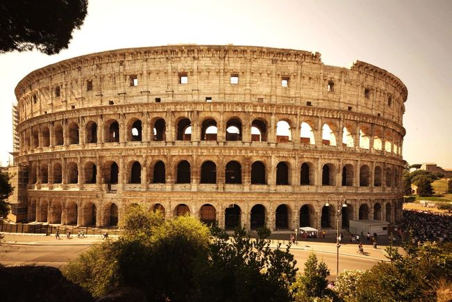 Great Atmosphere Roma Roma Colosseo Colosseum Mycity Streetphotography