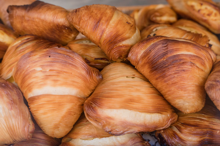 Sfogliatelle cakes Naples Naples, Italy Napoli Close Up Close-up Croissant Food Food And Drink No People Ready-to-eat Sfogliatella Sfogliatelle
