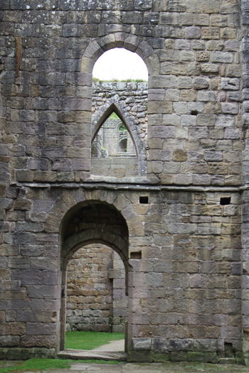 Abbey Abbey Ruins Church Fountains Abbey Fountains Abbey Yorkshire Henry VIII Reformation History Monks National Trust Outdoor Photography Peaceful Reflection Reformation Ruined Ruins