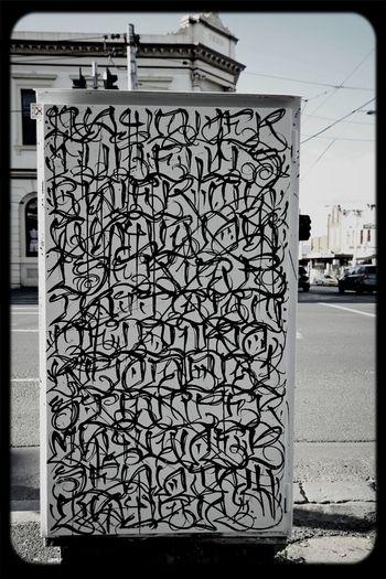 Signal Box Mayonaize Calligraffiti Fitzroy
