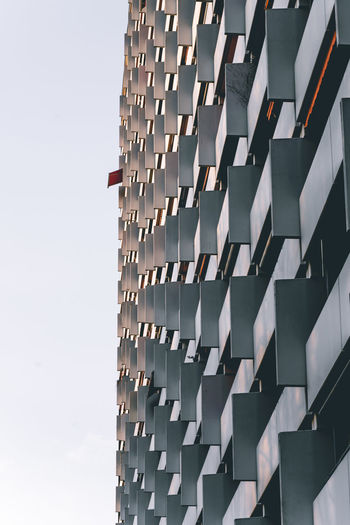 Architecture Built Structure Building Exterior No People Day Nature Outdoors Pattern Low Angle View Building Sky Repetition City In A Row Architectural Feature Wall - Building Feature Sunlight Abundance Metal Window Office Building Exterior Springtime Decadence The Architect - 2019 EyeEm Awards