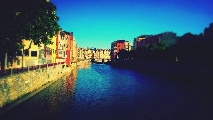 Girona SPAIN Urlaub Sun