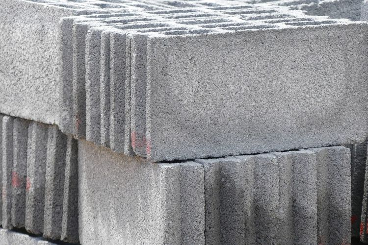 Concrete Block Background Architecture Backgrounds Build Building Built Structure Close-up Concrete Block Concrete Block Building Concrete Blocks Wall Construction Construction Site Day House Industry No People Outdoors Wall Walls คอนกรีต บ้าน อิฐ
