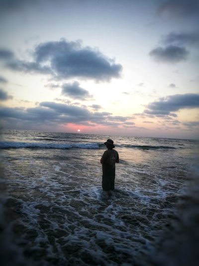 The Old Man and the Sea Hat Android Photography Meditative Full Length