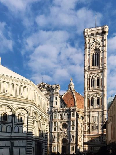 Duomo Di Firenze Florence Italy Florence Firenze Built Structure Architecture Building Exterior Sky Cloud - Sky Building Place Of Worship Travel Destinations