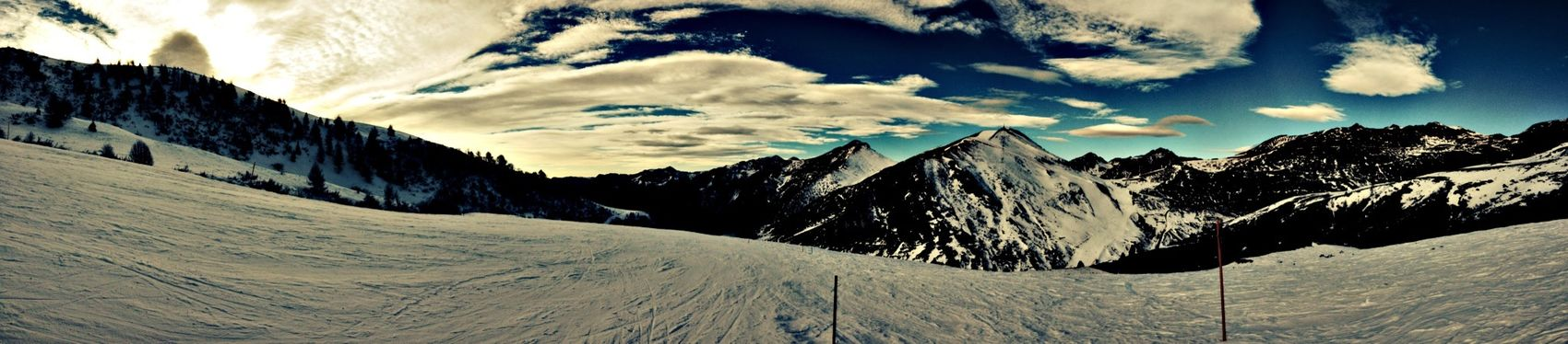 My Mountians Snow Sunday