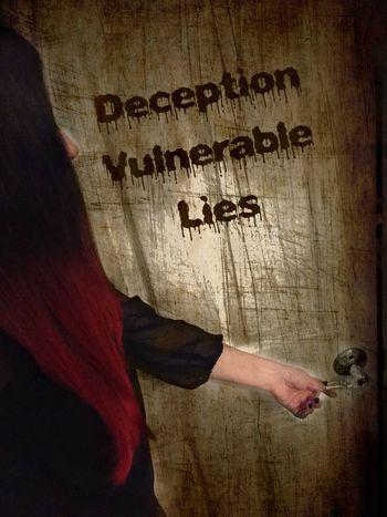 Deception Vulnerable Selfportrait  Lies Darkportrait EyeEmBestEdits Doors Illusion Darkart