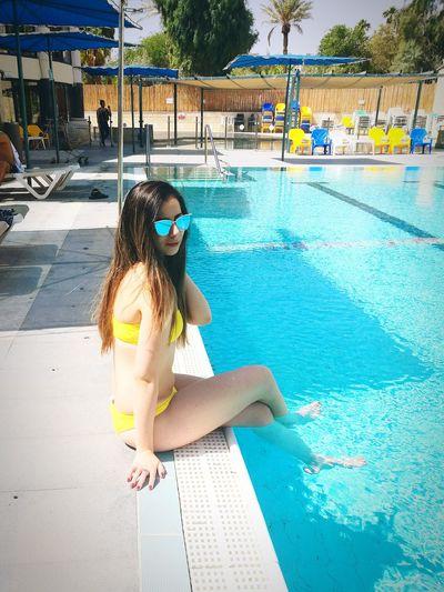 Swimming Pool Full Length Water Childhood Child Girls