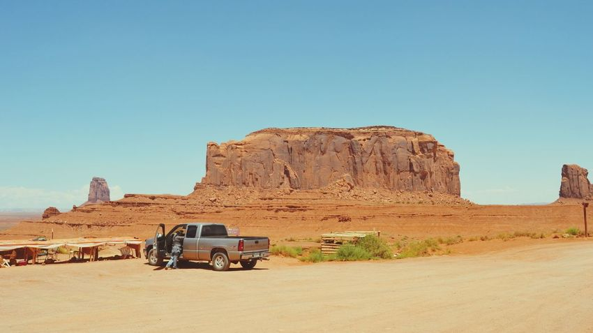 Monument Valley Summer Road Tripping Desert Rock - Object Clear Sky Sky Landscape Sand Dune Arid Rock Formation Atmospheric Rocky Mountains Arid Landscape